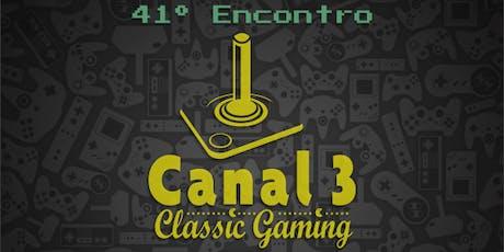 41º Encontro Canal 3 - SP ingressos