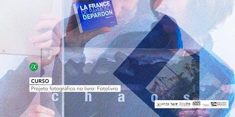 Curso | Projeto fotográfico no livro: Fotolivro tickets