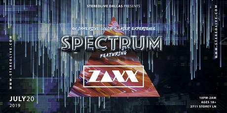Spectrum: An Immersive Color and Laser Experience feat. ZAXX - Dallas tickets