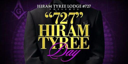 """""""727"""" HIRAM TYREE DAY"""
