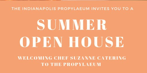 Summer Open House at the Propylaeum