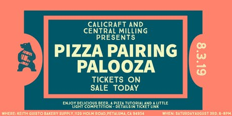 Pizza Pairing Palooza tickets