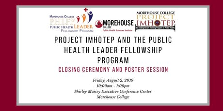 Project Imhotep and PHLFP Closing Ceremony and Poster Session tickets