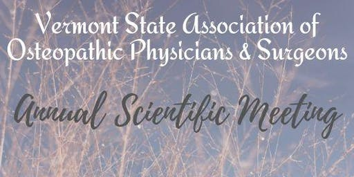 VT State Association of Osteopathic Physicians and Surgeons Annual Meeting