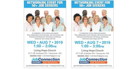 50+ Networking Event - Vancouver - 8/7/19 tickets