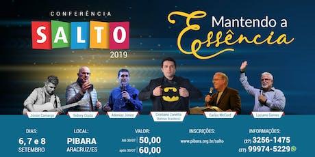 Conferência do SALTO 2019 ingressos