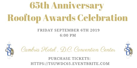 TSU - WDC 65th Anniversary Rooftop Awards Celebration tickets