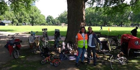 September Hackney Family Cycling Library tickets