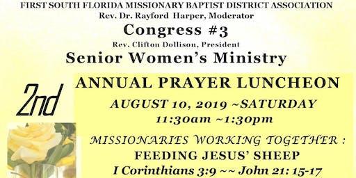 FSF-Congress #3 Senior Women's Ministry 2nd Annual Prayer Luncheon