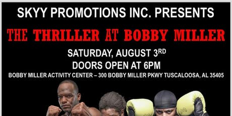 The Thriller at Bobby Miller tickets