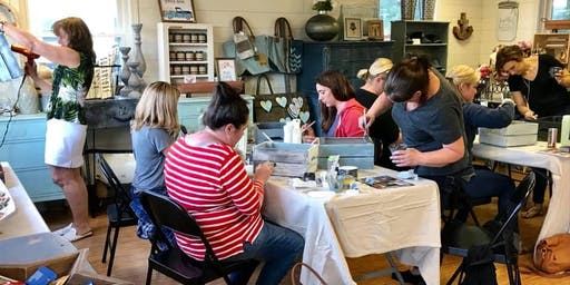 Beginner Furniture Painting Workshop at GooeyGump Designs