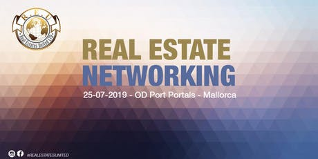 Real Estates United Networking 25 de Julio entradas