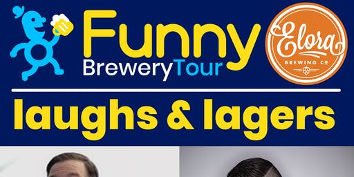 Funnyman & Elora Brewing Co. Presents: Laughs & Lagers