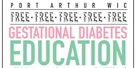 Gestational Diabetes Education tickets