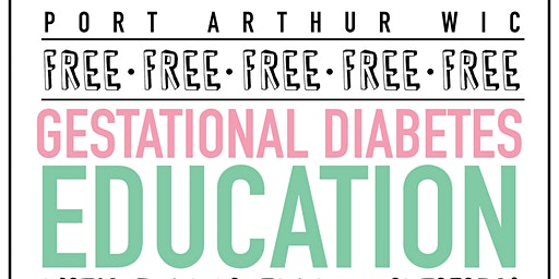 Gestational Diabetes Education