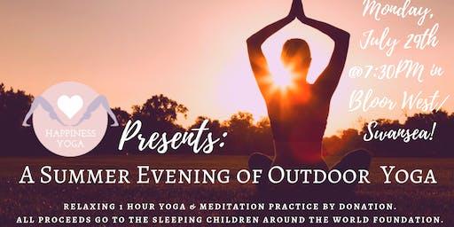 Bloor West/Swansea Outdoor Summer Yoga