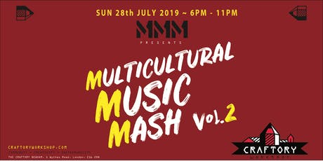 Multicultural Music Mash Vol. 2 tickets