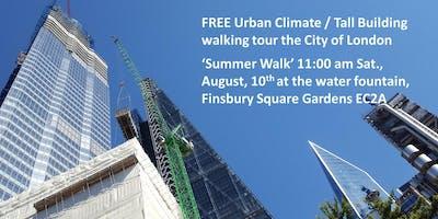 City of London Urban Climate Walk