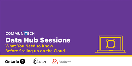 Data Hub Sessions: What You Need To Know Before Scaling  Up on the Cloud tickets