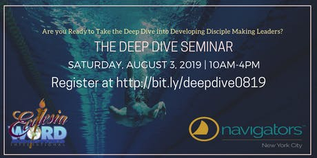 The Deep Dive Seminar | Aug2019 tickets