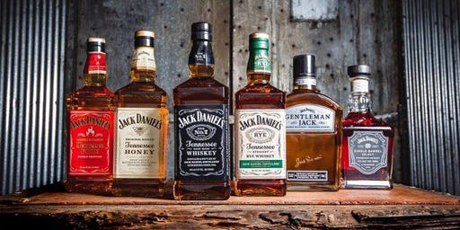 Jack Daniel's Tennessee Whiskey Tasting