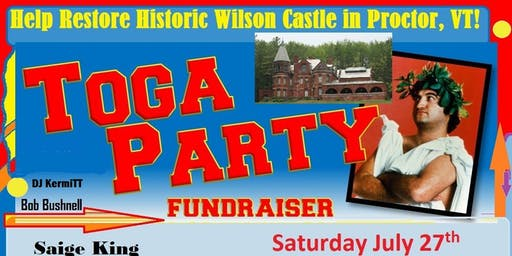 Wilson Castle Toga Party Fundraiser!