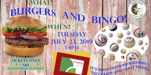 Burgers & Bingo!