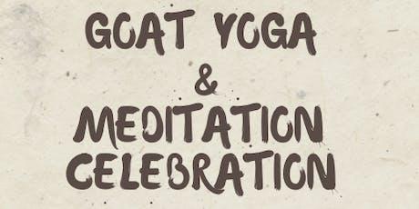 Goat Yoga- Meditation Celebration  tickets