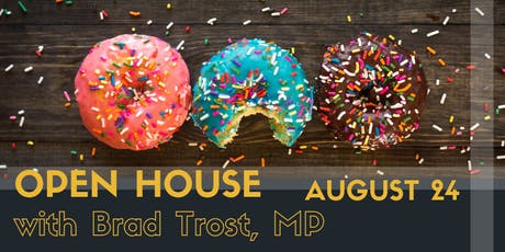 Open House with Brad Trost, MP! tickets