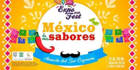 México de mis sabores  entradas