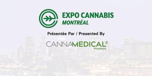 Expo Cannabis Montréal, 3 - 4 octobre, 2019
