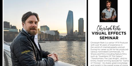 VFX Seminar with Christoph Roth tickets