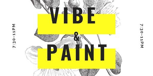 Vibe & Paint with JIXXII
