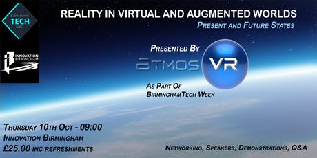 """Reality in Virtual and Augmented Worlds"", Present and Future States tickets"