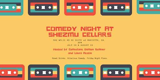 Comedy Night at Shezmu Cellars
