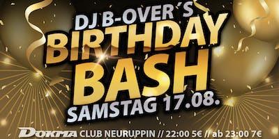 B-Over´s Birthday BASH