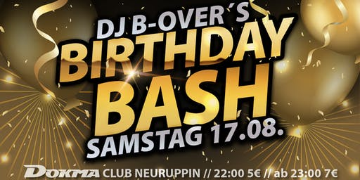 B-Over´s Birthday BASH