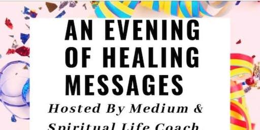 An Evening of Healing Messages  with Medium Cassandra Bodhi