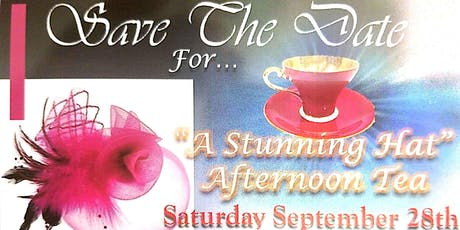 The Stunning Hat Afternoon Tea tickets