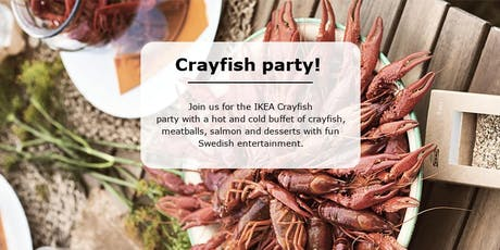 IKEA Crayfish Party 2019 tickets