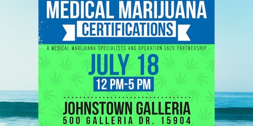Medical Marijuana Certification Event
