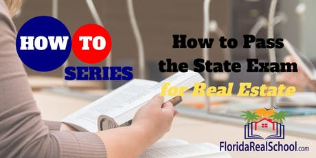 How to Series: How to Pass the State Exam tickets