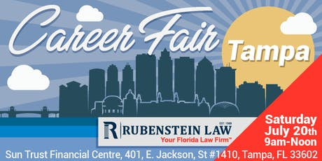 Career Fair - Rubenstein Law, Tampa/St. Petersburg tickets