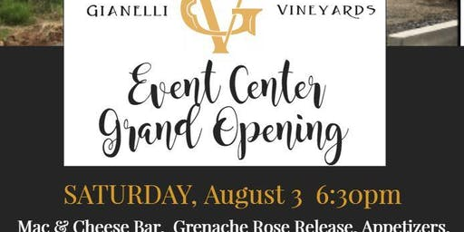 Event Center Grand Opening