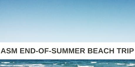 ASM Beach Trip tickets