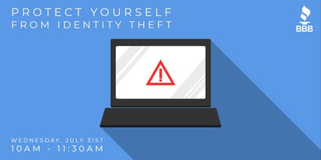 Protect Yourself from Identity Theft tickets