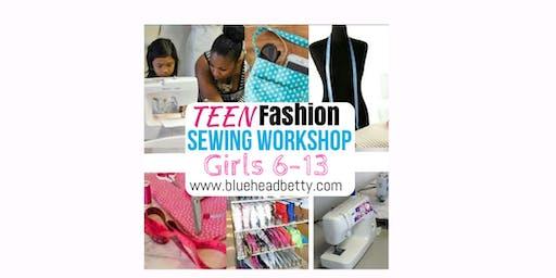 Detroit Teens Beginner Sewing Workshop