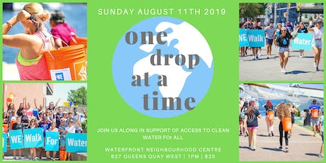ONE DROP AT A TIME 2019 tickets