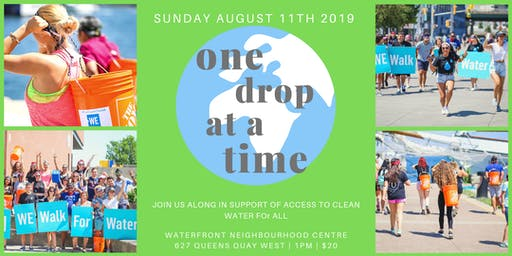 ONE DROP AT A TIME 2019