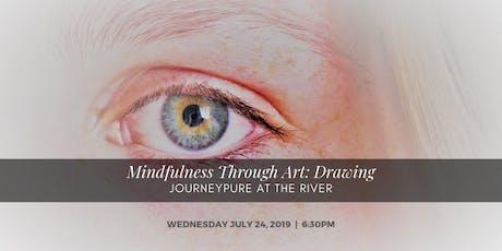 Mindfulness Through Art: Drawing tickets
